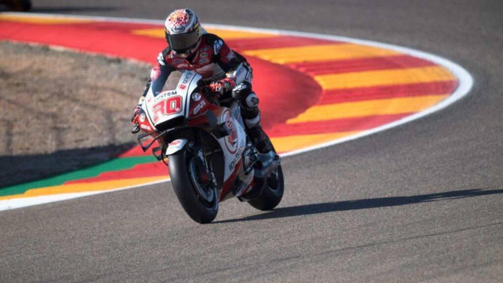 Takaaki Nakagami MotoGP Aragon