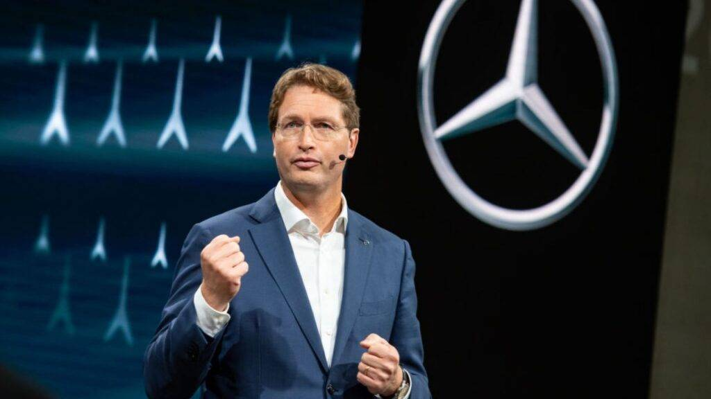Ola Kaellenius presidente Mercedes