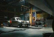 Porsche 911 Turbo Cyberpunk 2077