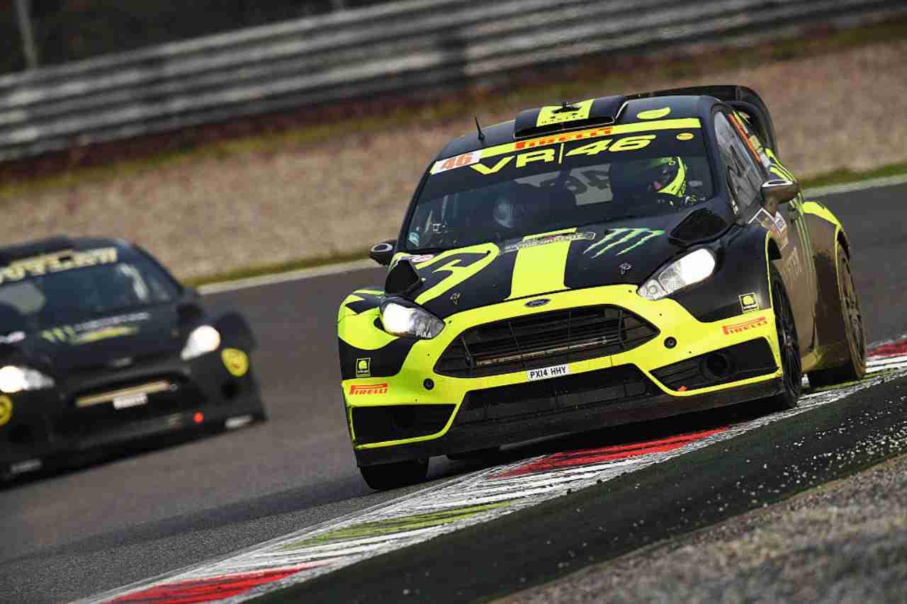 Valentino Rossi Rally Monza