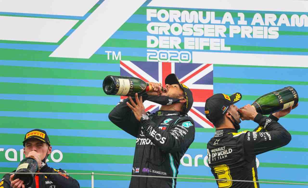 Formula 1, classifica mondiale piloti e costruttori dopo GP Nurburgring
