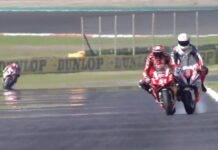 pirro mantovani superbike incidente