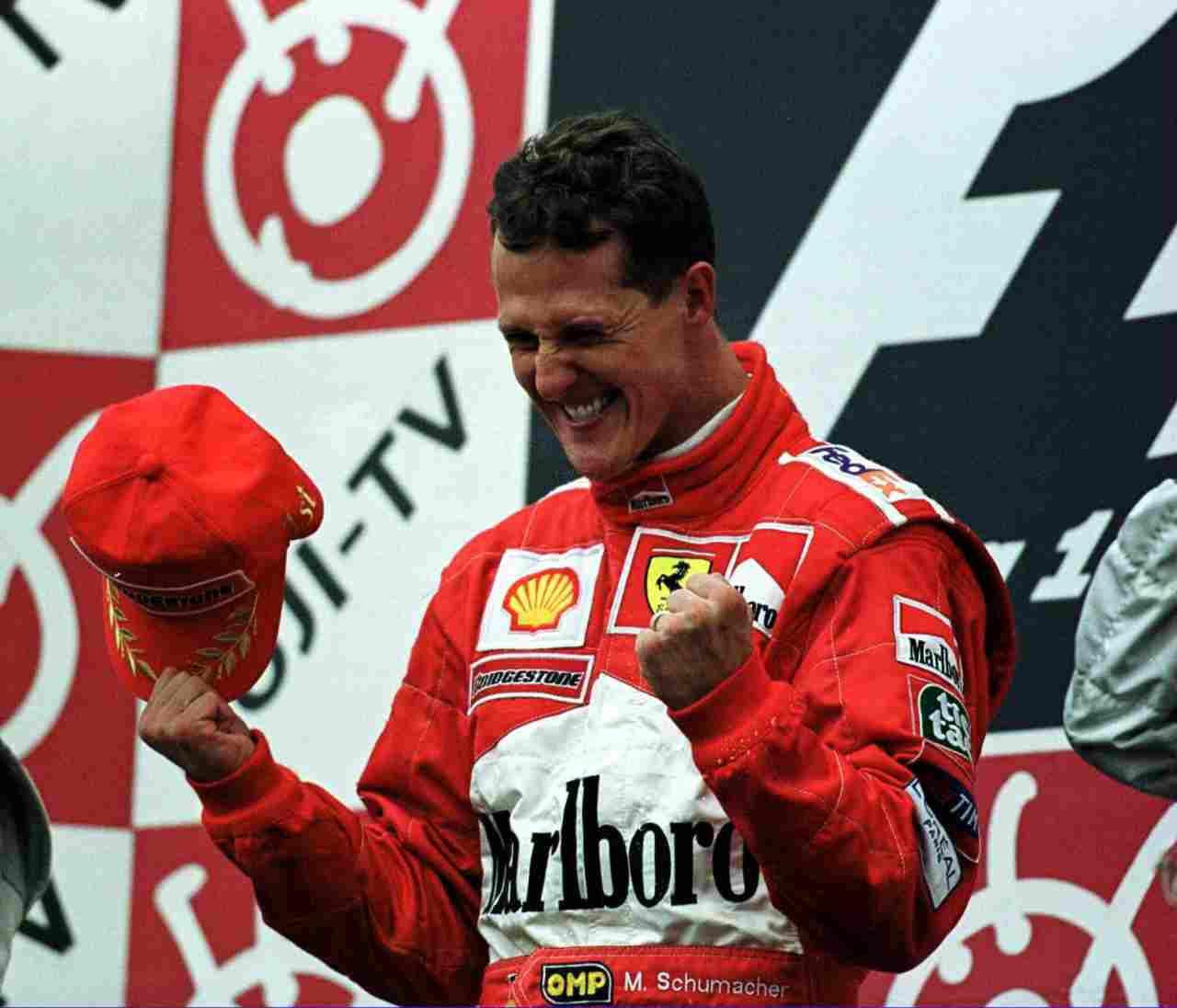 Michael Schumacher, vent'anni fa il primo titolo mondiale in Ferrari