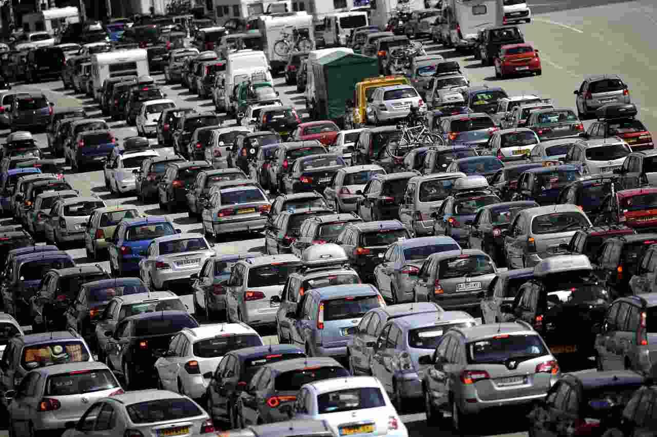 Auto traffico