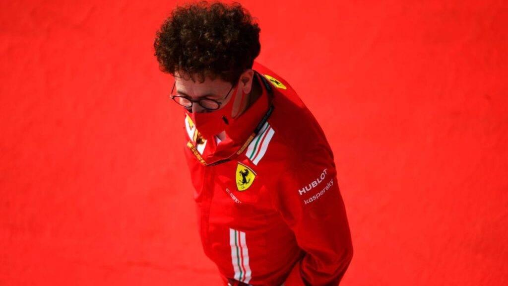 Mattia Binotto Ferrari