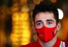 Charles Leclerc F1 GP Bahrain
