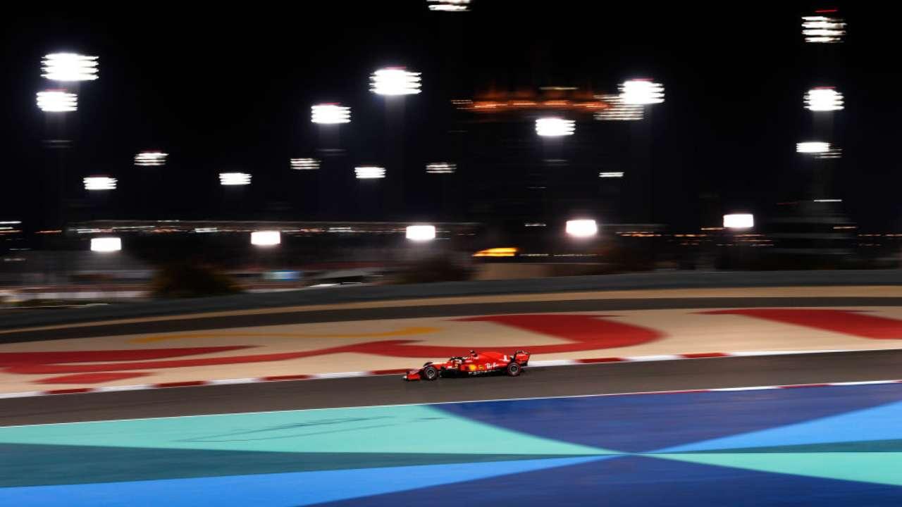 GP Bahrain Ferrari