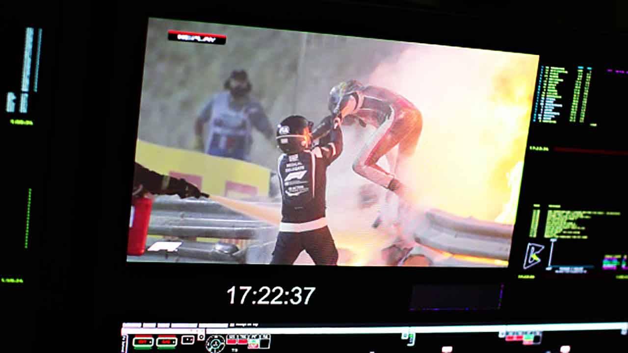 GP Bahrain Grosjean