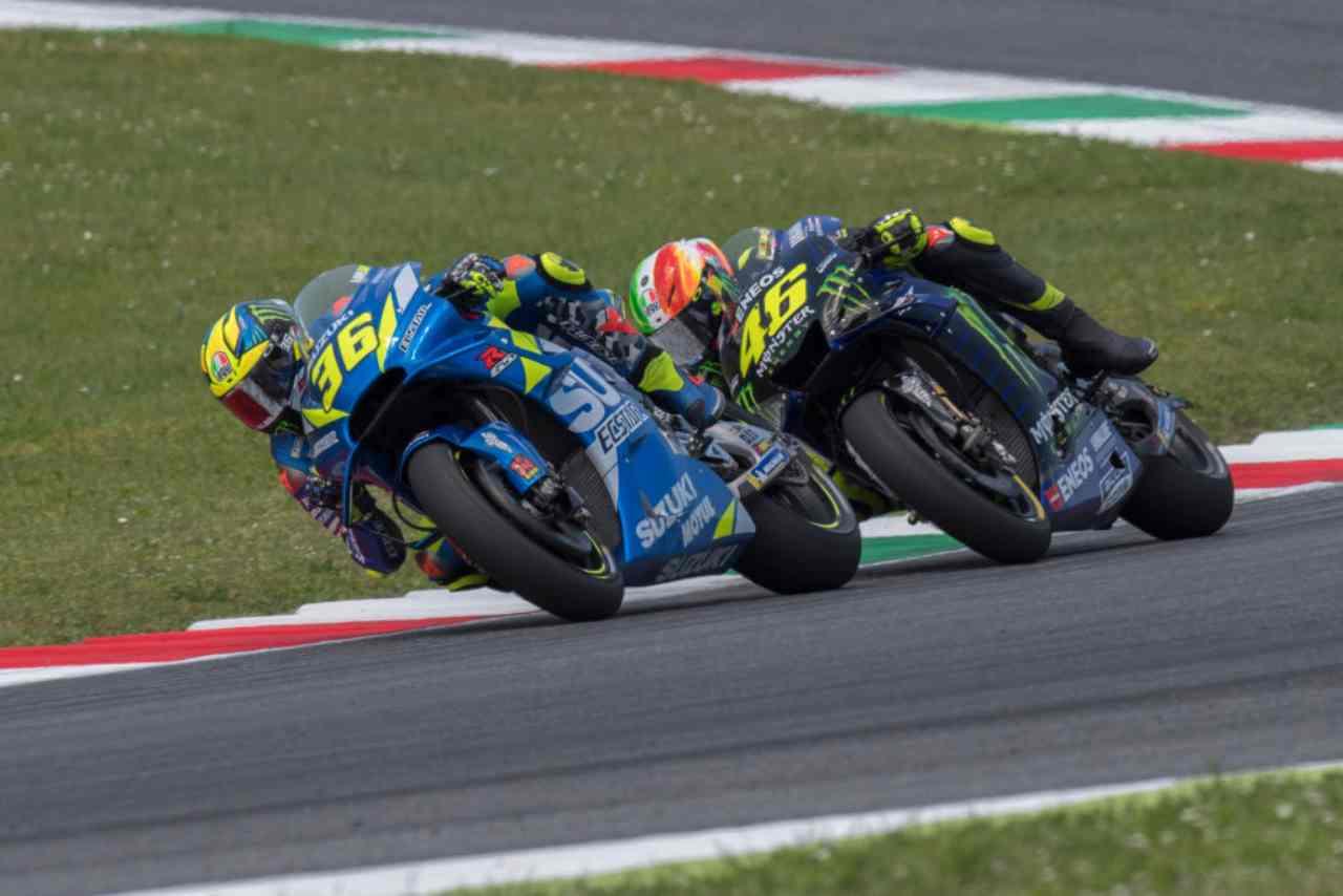 Joan Mir Valentino Rossi MotoGP