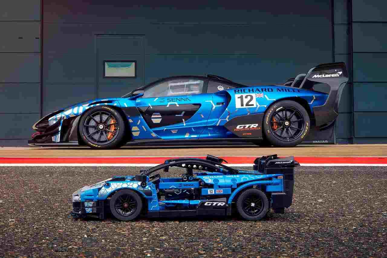 Lego, rinasce un'icona: il kit per la McLaren Senna GTR