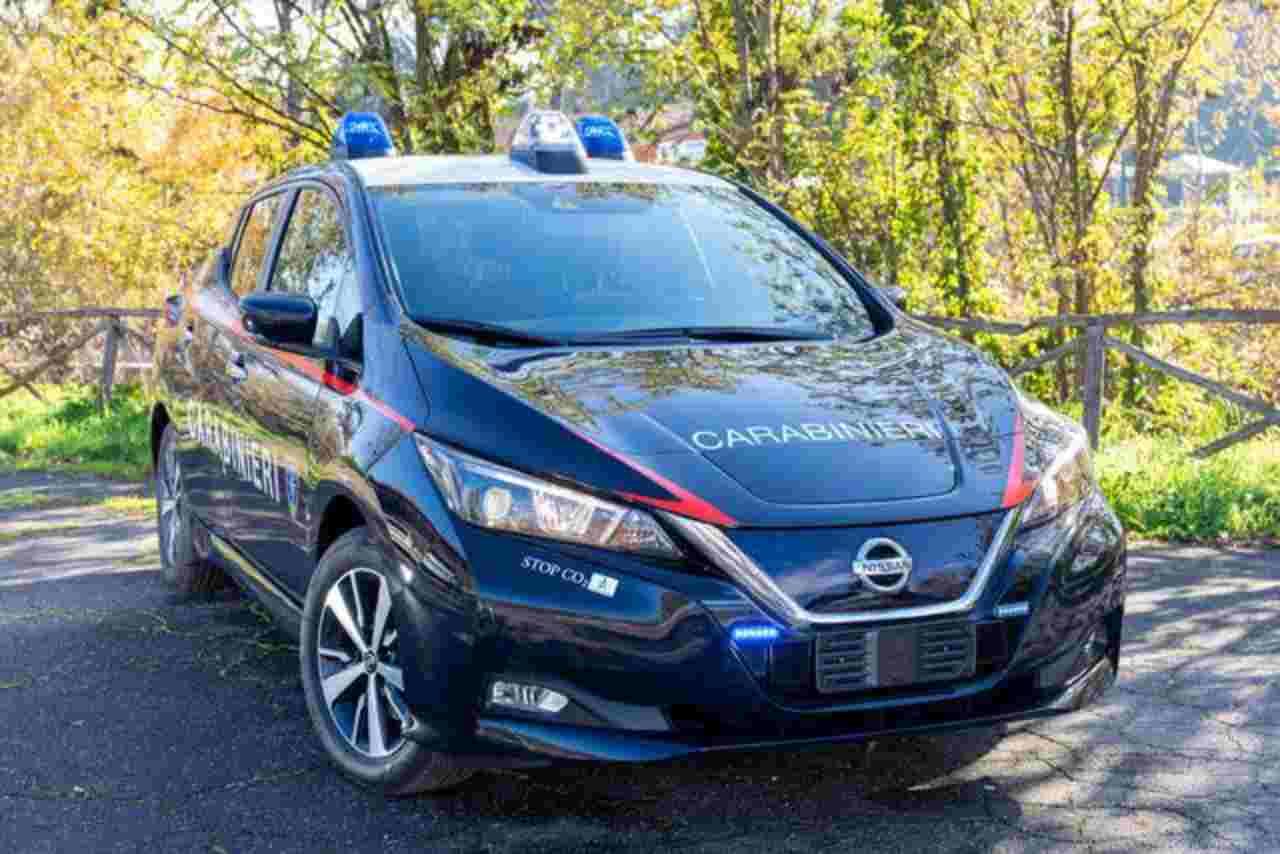 Nissan Leaf Carabinieri