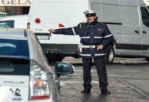 Polizia Locale multa Brescia gomme auto