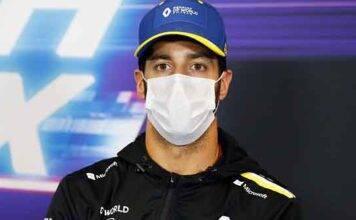GP Bahrain, Ricciardo