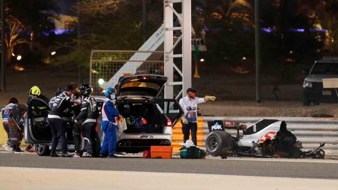 Tremendo incidente per il ginevrino Grosjean