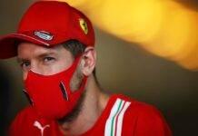 Sebastian Vettel F1 GP Bahrain