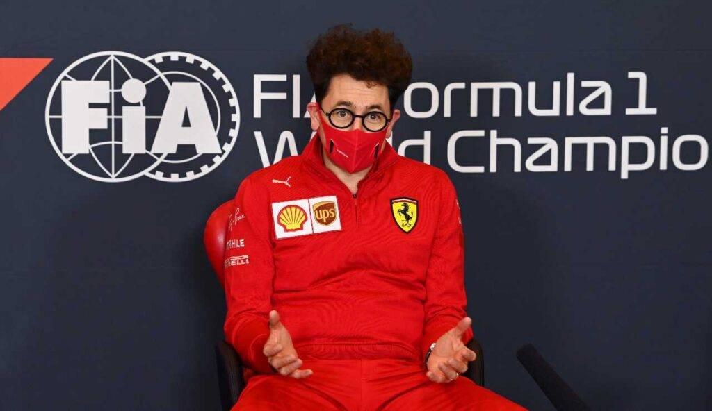 Mattia Binotto Ferrari Bahrain