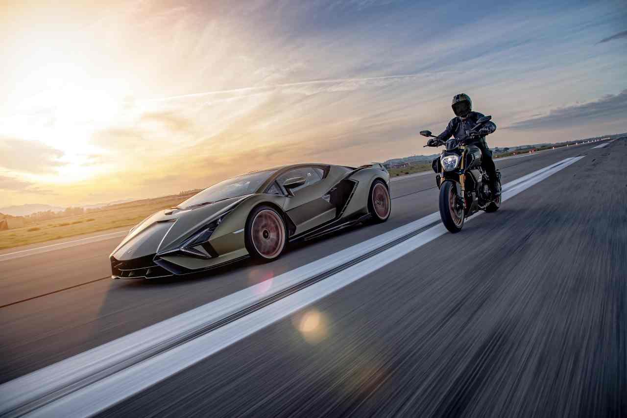 Ducati Diavel 1260 Lamborghini, le caratteristiche