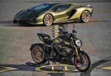Ducati Diavel 1260 Lamborghini: progetto esclusivo in edizione limitata