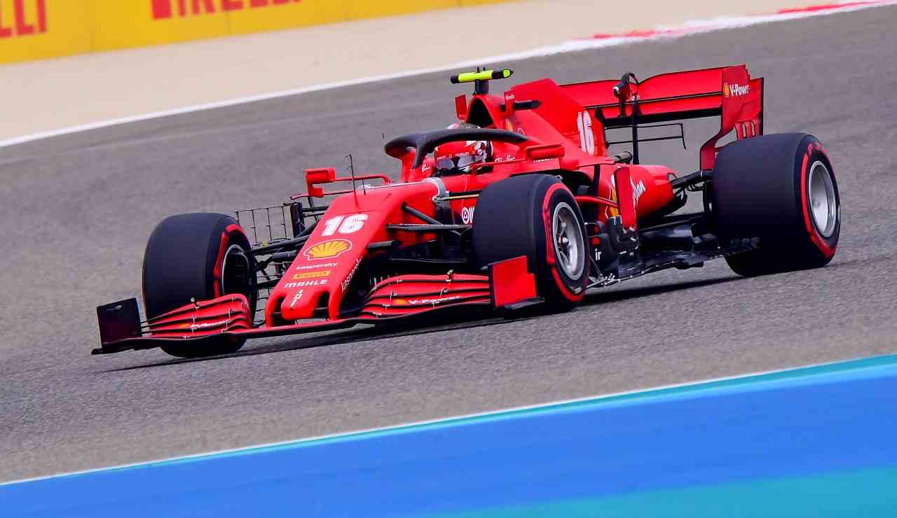 gp bahrain gara leclerc tv