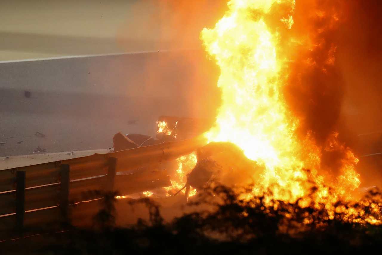 Formula 1, Grosjean, Lauda, Berger: gli incendi che hanno segnato la storia - Video