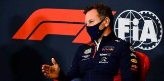 Christian Horner Red Bull Albon
