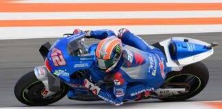 MotoGP, un giro di pista a Valencia con Rins - Video