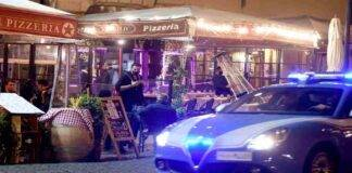 Polizia Roma inseguimento notte ragazzi
