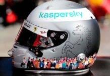 Vettel casco