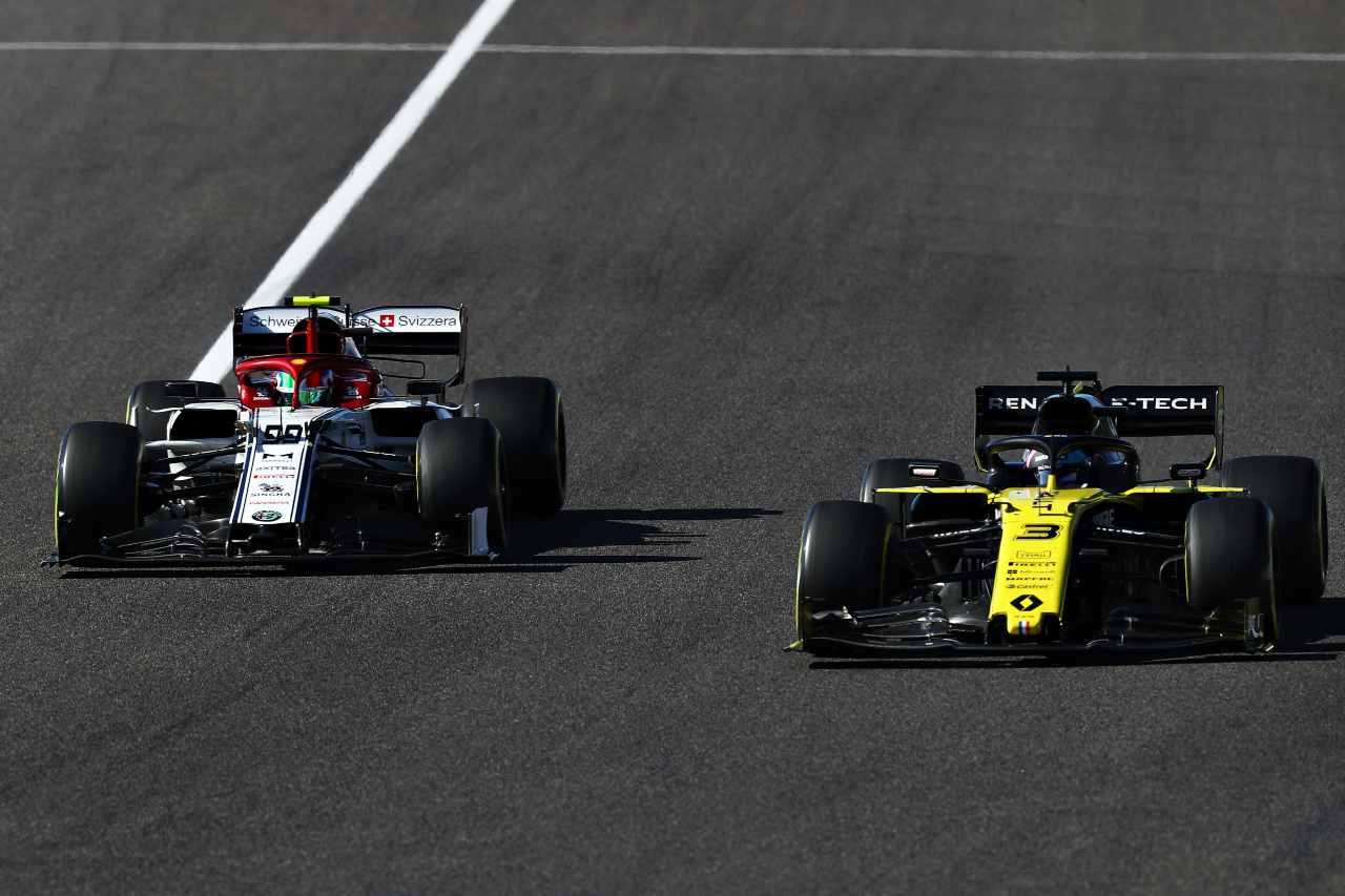 Giovinazzi Ricciardo