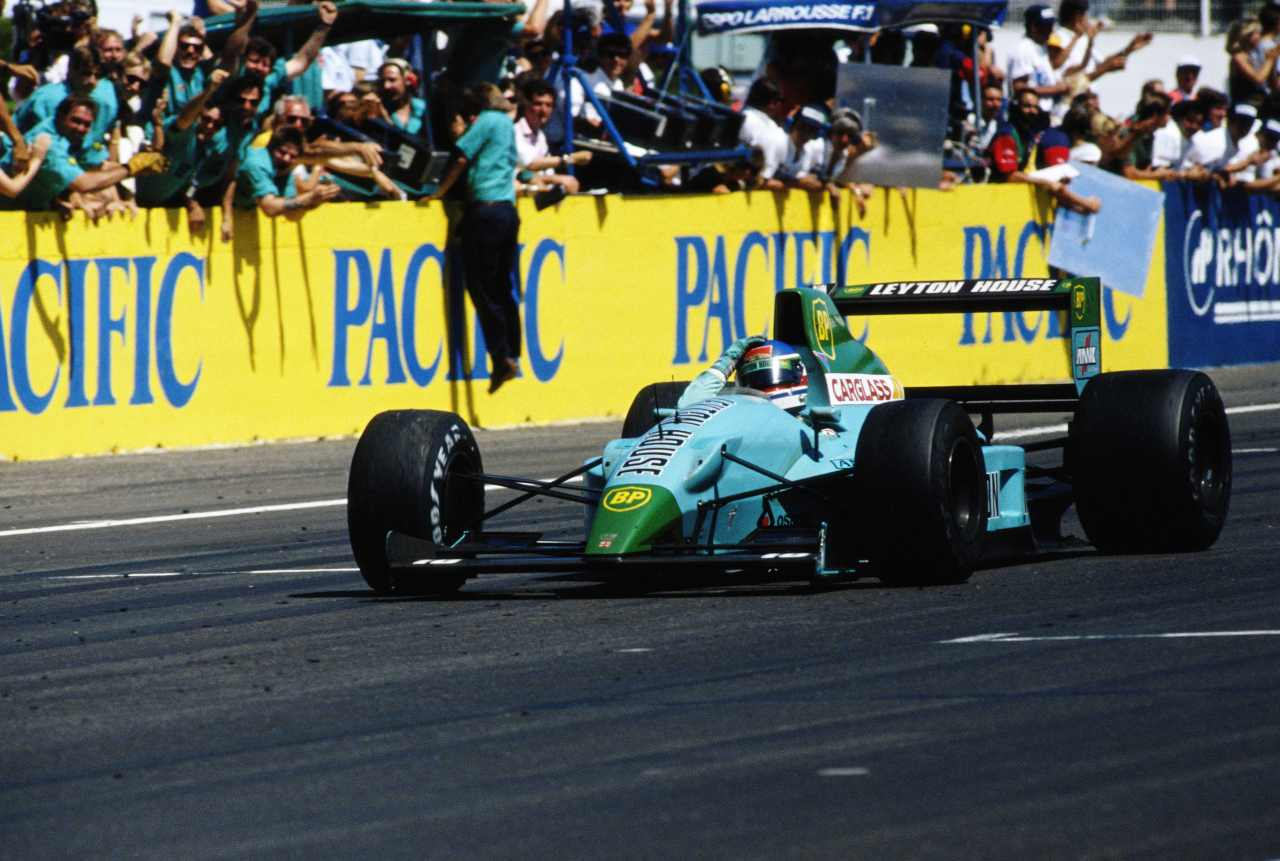 Leyton House, la creazione di Newey (foto Getty)