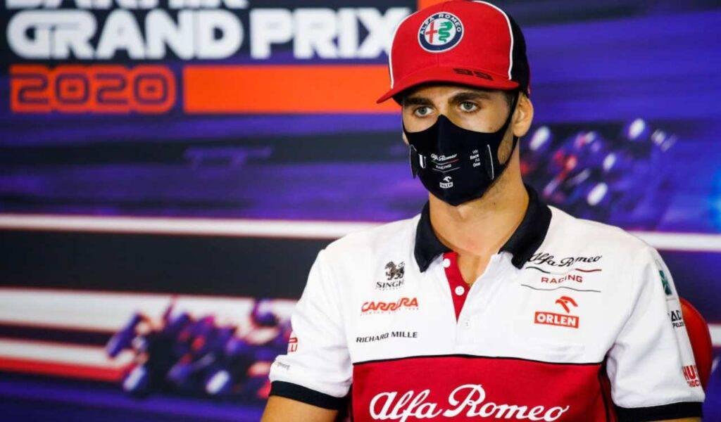 Antonio Giovinazzi F1