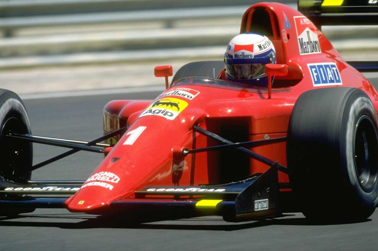 F1, GP Francia 1990: Prost festeggia la centesima vittoria Ferrari - Video