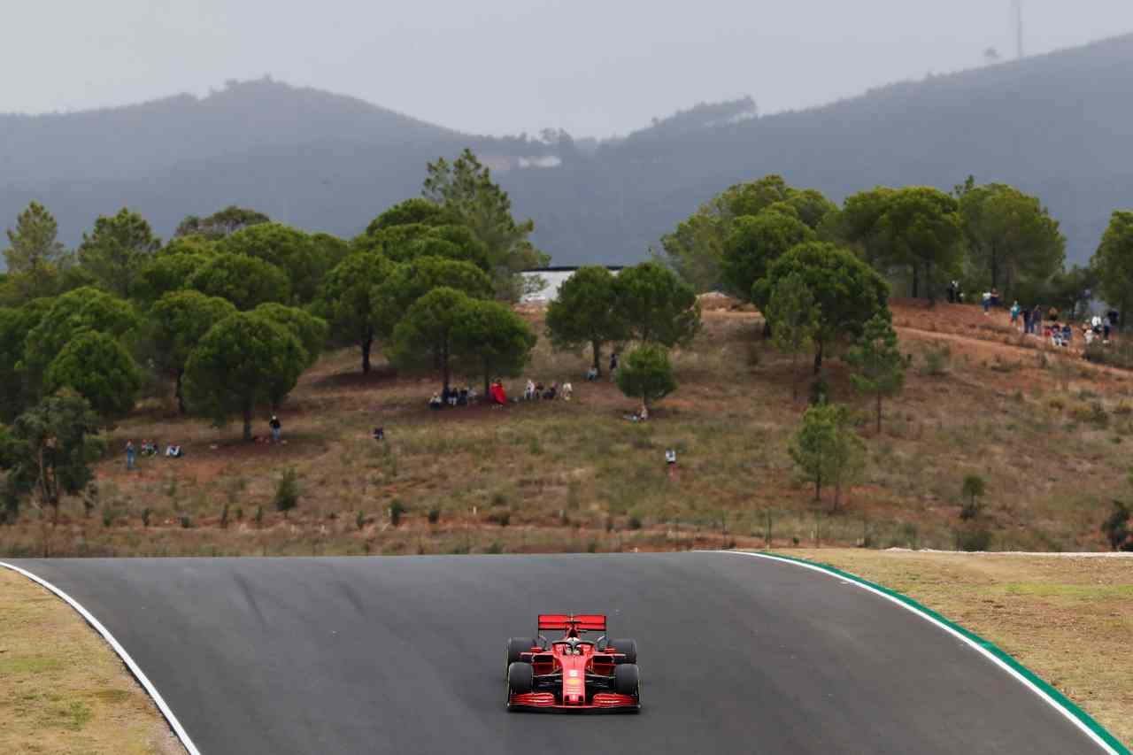 Portimao Ferrari F1