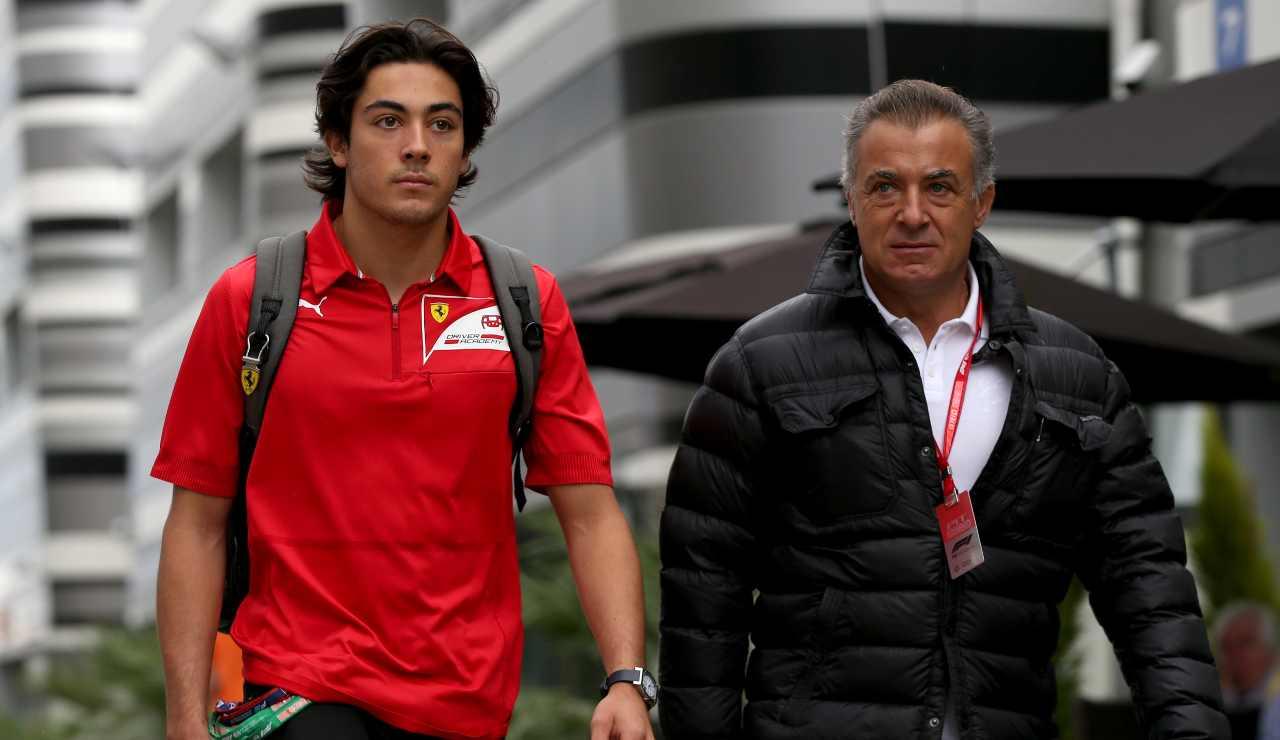 Ferrari: primi test a Fiorano, in pista Giuliano, figlio di Jean Alesi