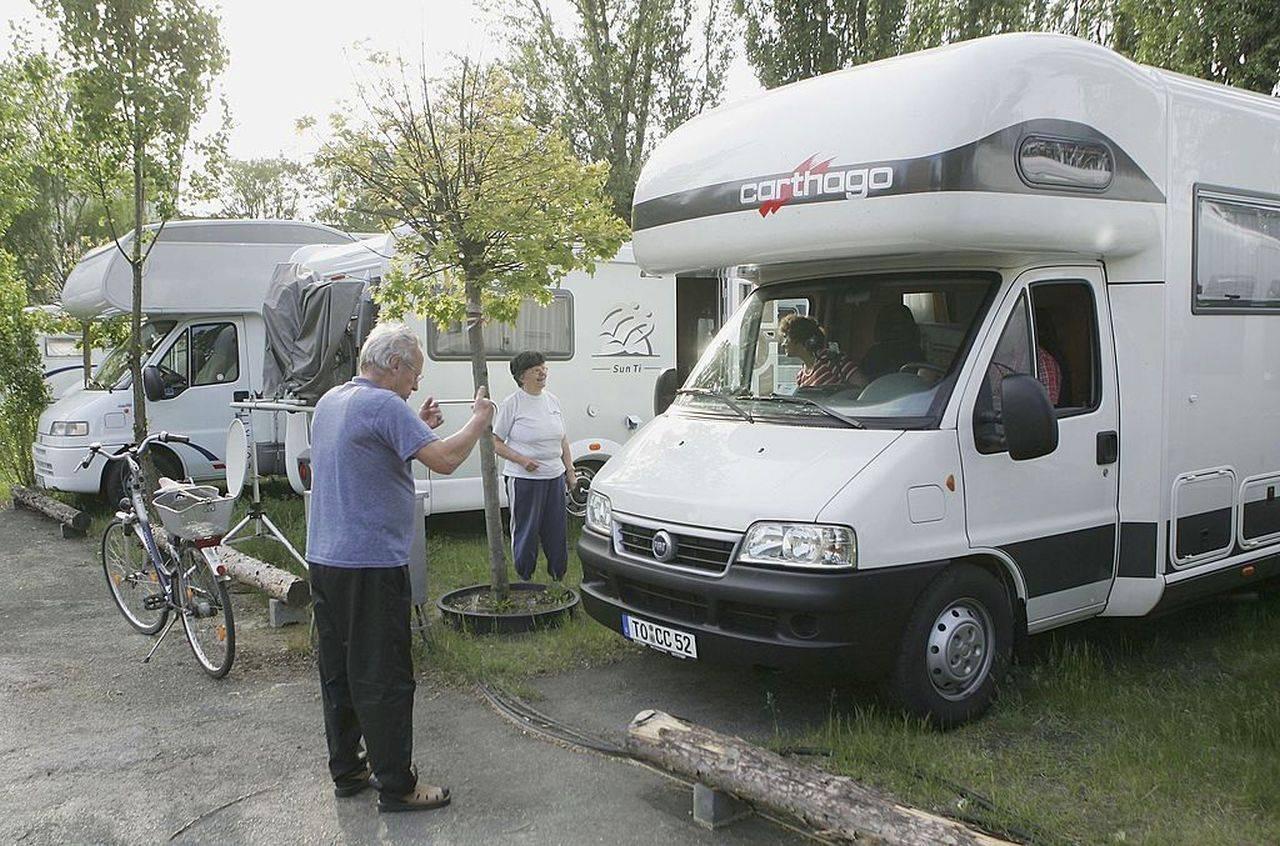 Camping-car, alarme de bloc diesel. L'association: