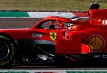 Carlos Sainz, il casco per il debutto in Ferrari a Fiorano - Foto