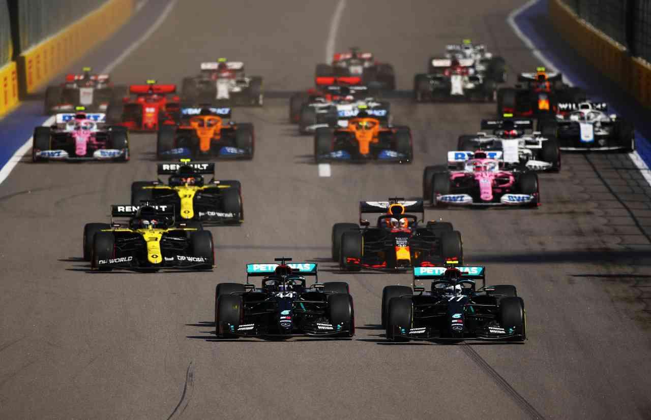 Formula 1 2021, le regole per telaio e power unit