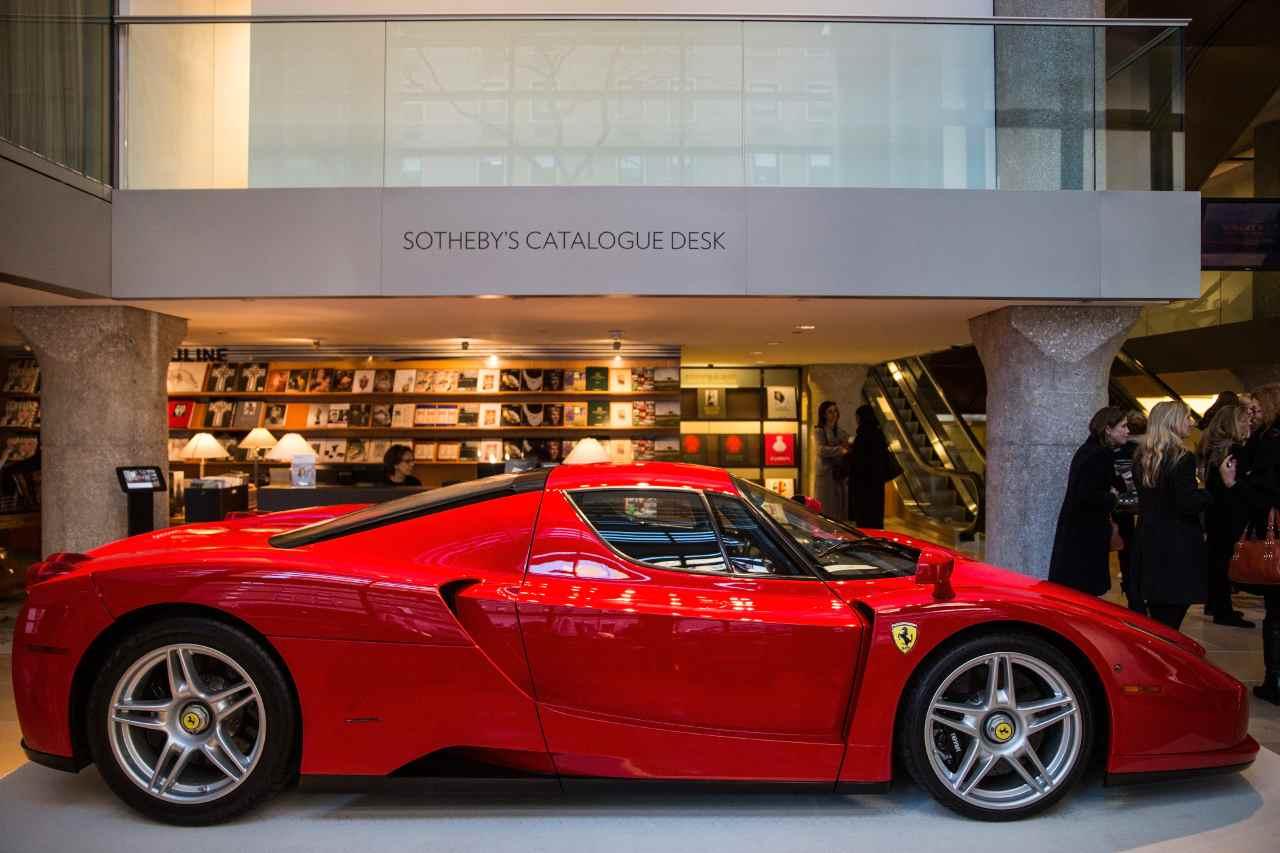 Ferrari Enzo, modello esclusivo all'asta: caratteristiche e prezzo