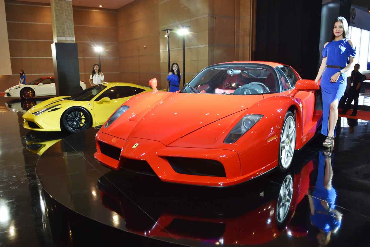 Ferrari Enzo all'asta, il prezzo atteso