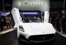 Maserati Mc20, supercar più bella del 2021: il premio a Parigi