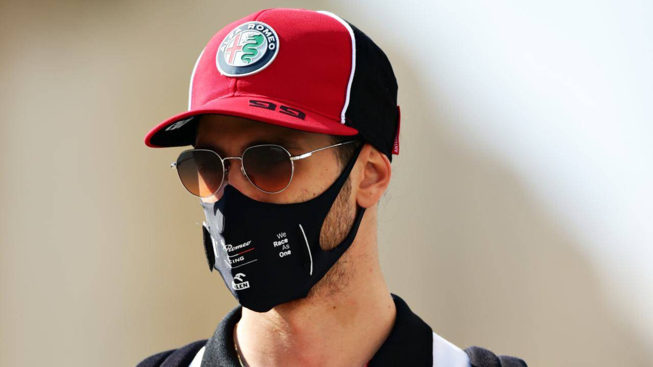 F1 Antonio Giovinazzi
