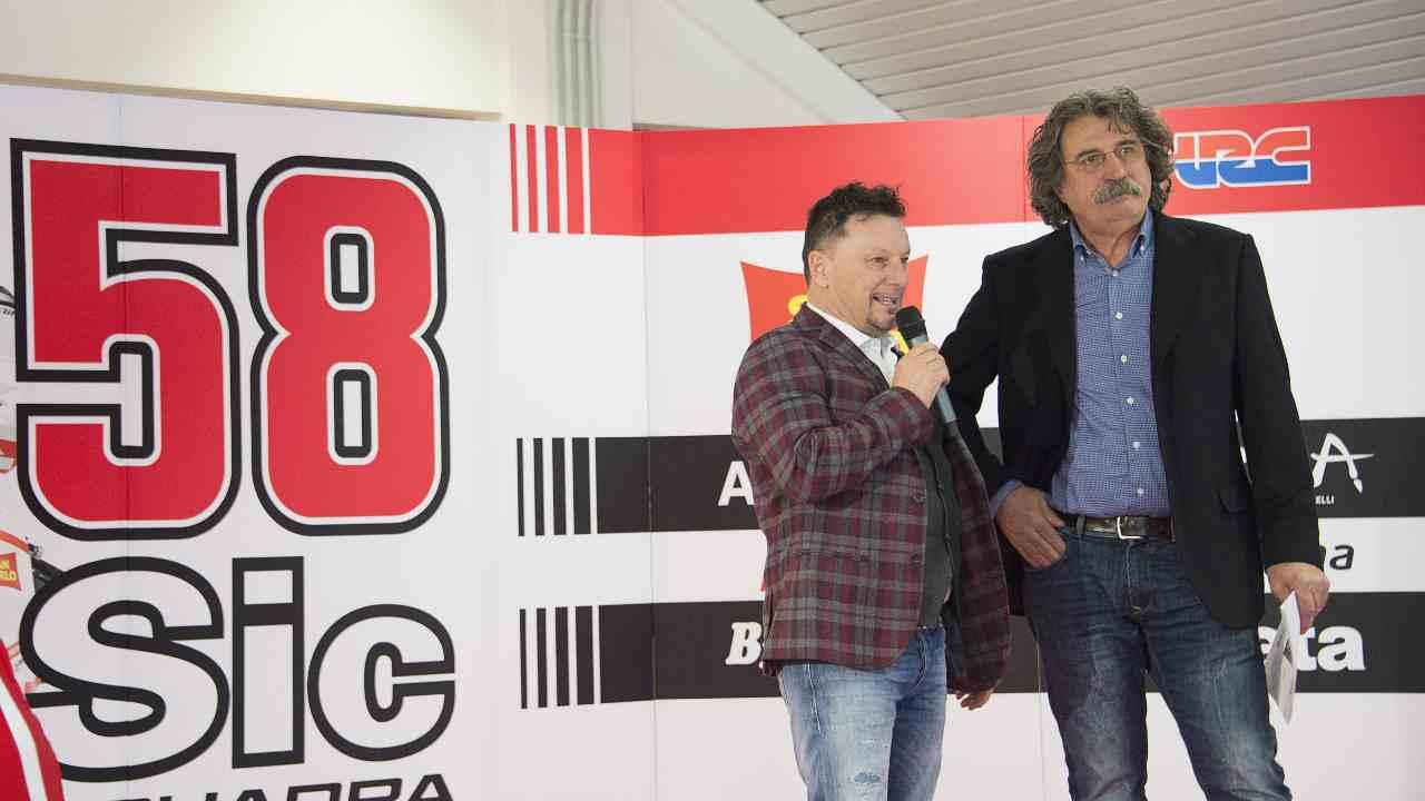Paolo Simoncelli e Fausto Gresini