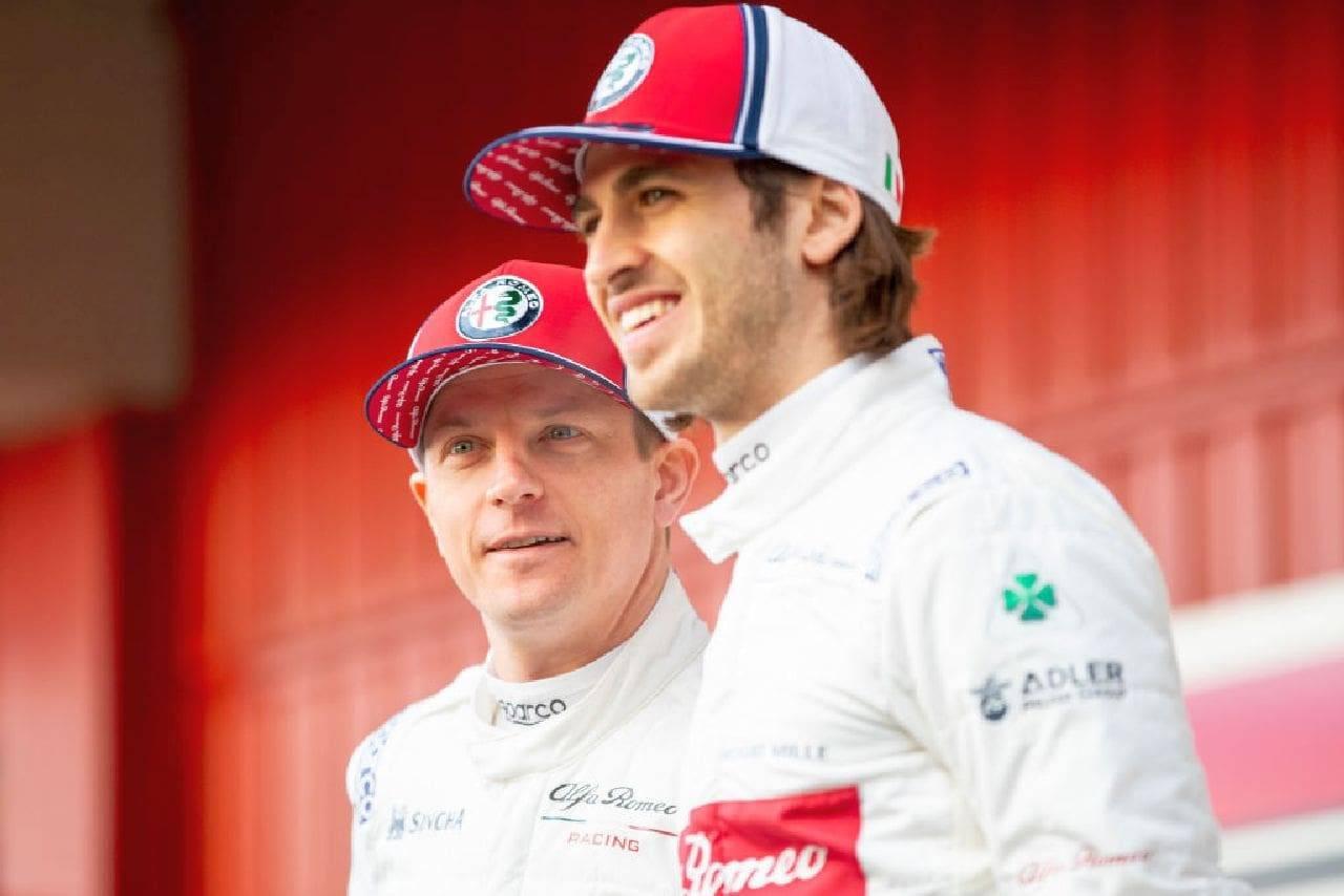 Formula 1, Alfa Romeo: presentata la C41 di Giovinazzi e Raikkonen. Foto
