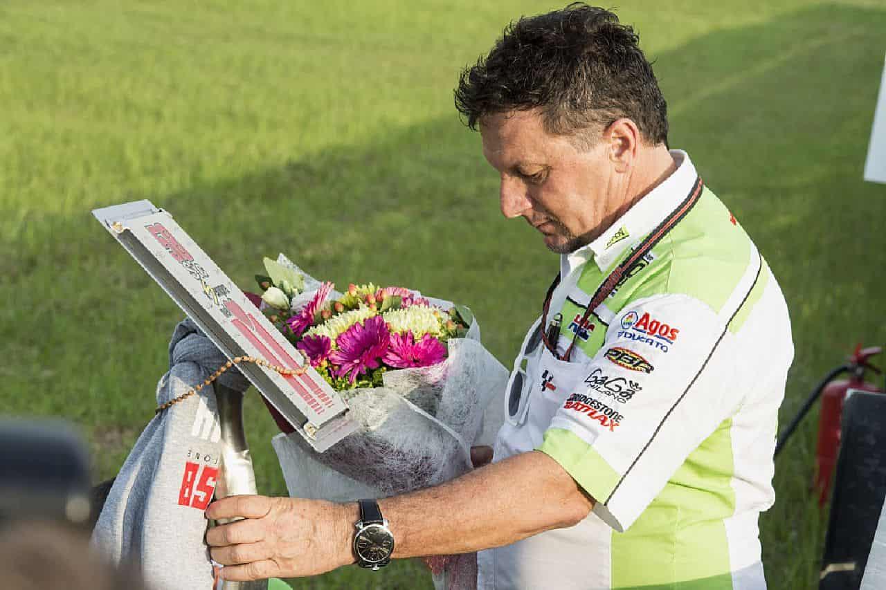 Fausto Gresini, il cordoglio su Twitter: dalla MotoGP ai team. Tanti i messaggi