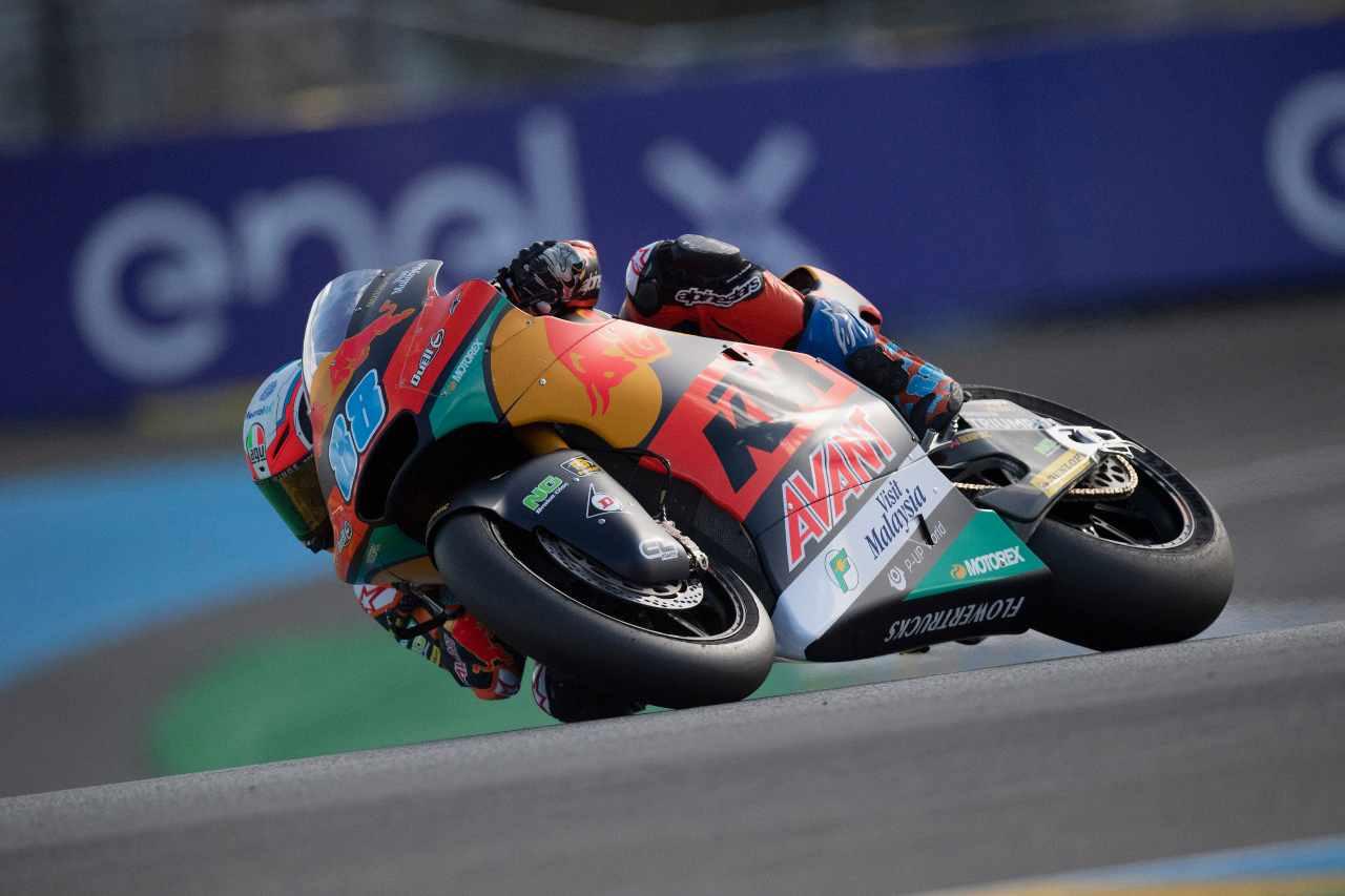 Jorge Martin in Moto2 (foto Getty)
