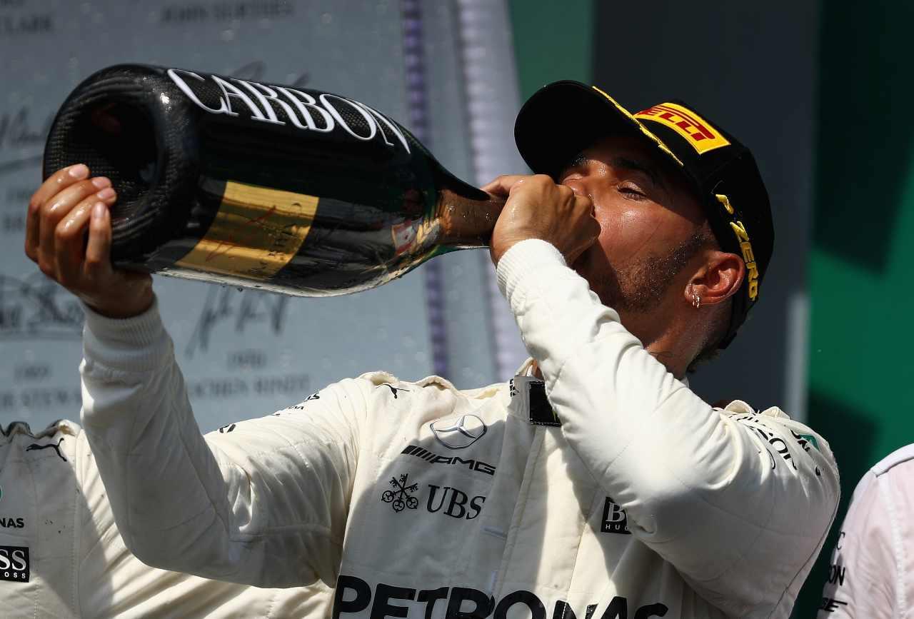 Champagne Formula 1