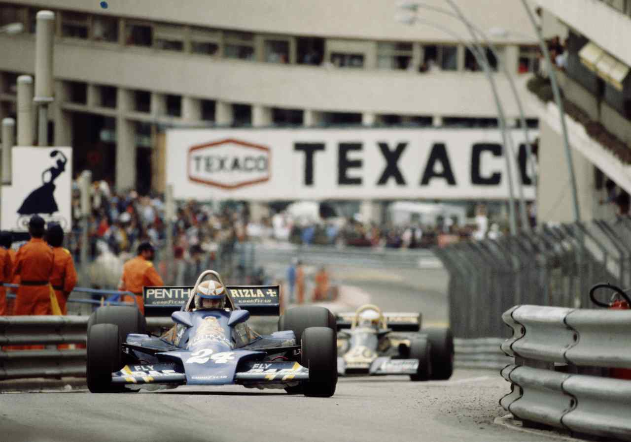 """Un GP del 1977. Quell'anno gli Albatros cantarono """"Gran Premio"""" al Festival di Sanremo"""" (foto Getty)"""