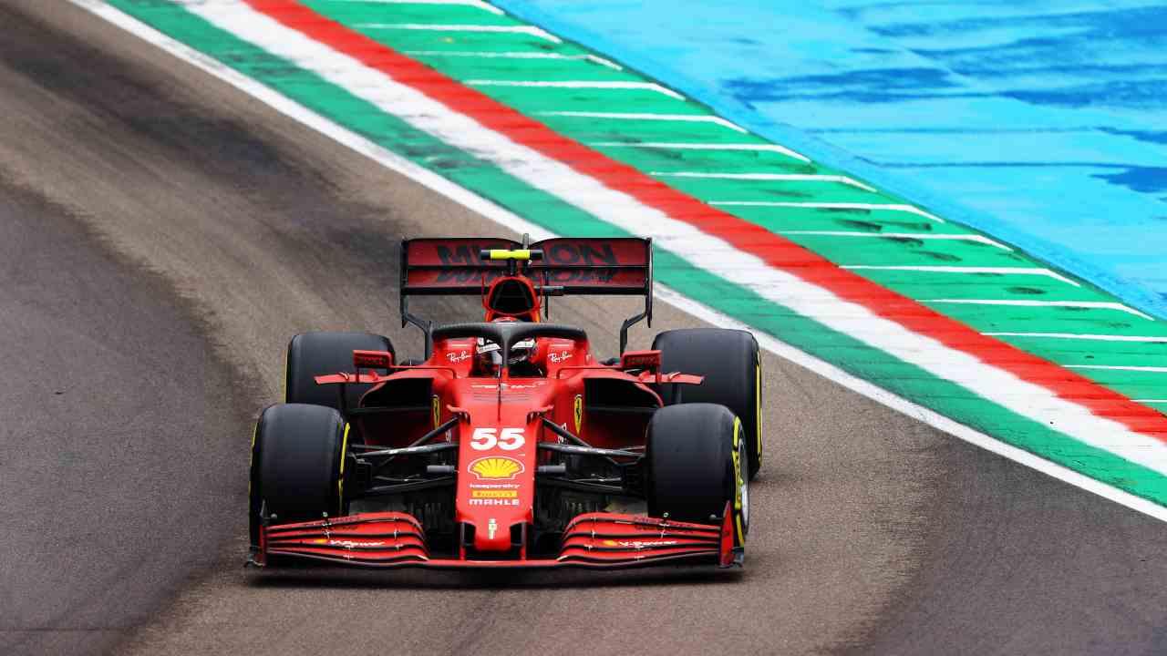 La Ferrari di Carlos Sainz