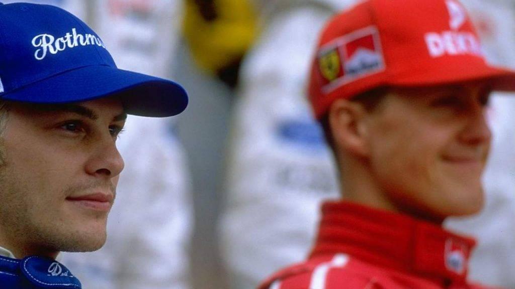 Jaques Villeneuve Michael Schumacher