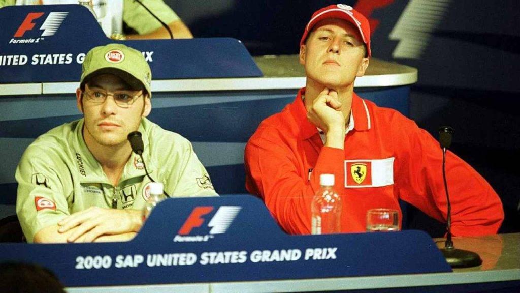 Villeneuve Schumacher Michael
